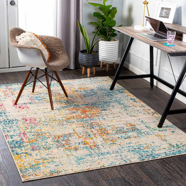 Vaart Modern Orange Area Rug