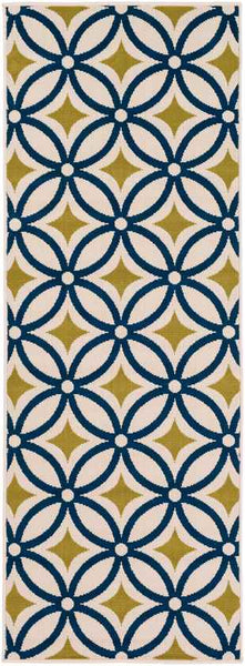 Dordogne Indoor / Outdoor Navy Area Rug