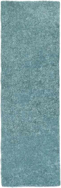 Fortune Shag Teal Area Rug