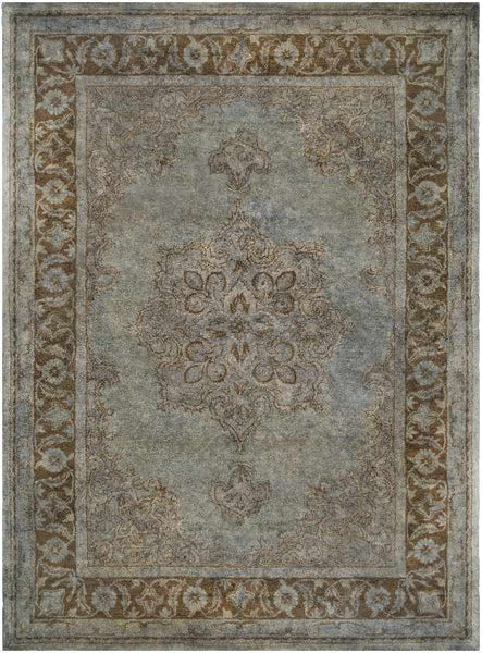Destin Updated Traditional Light Gray Area Rug