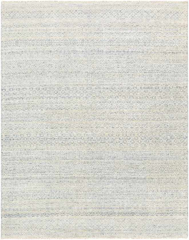 Prudhoe Traditional Pale Blue Area Rug