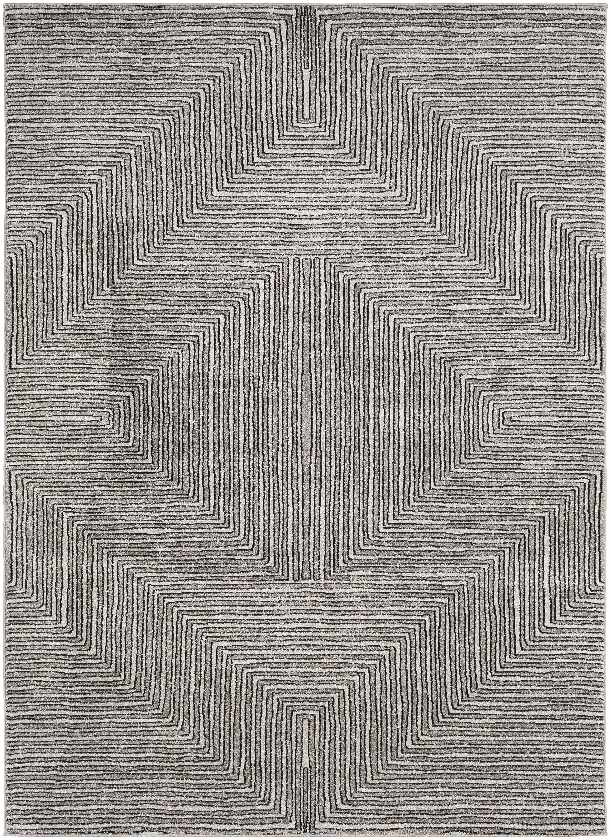 Babette Bohemian/Global Black Area Rug