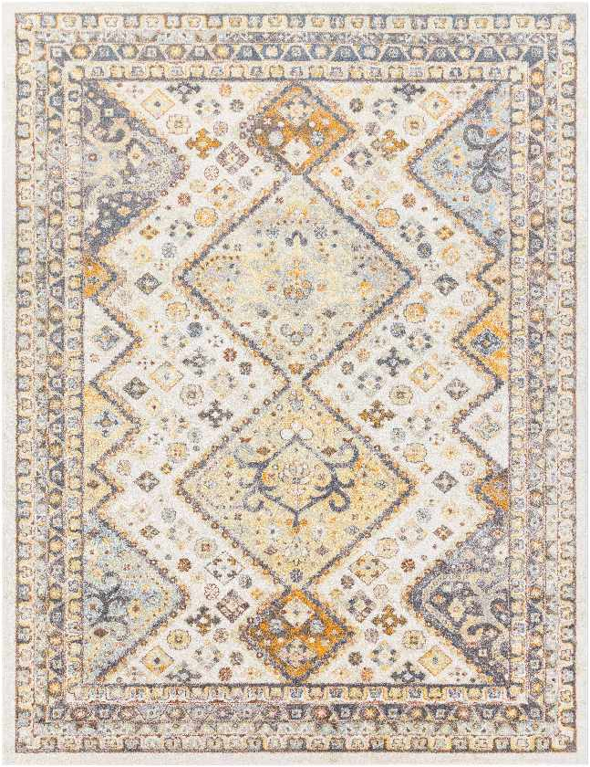 Ramsey Rustic Bright Orange Area Rug