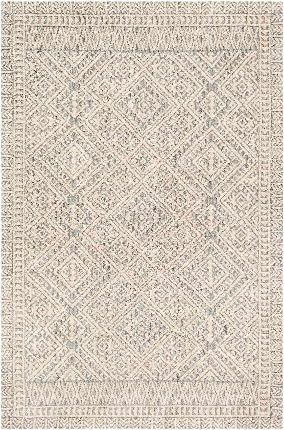 Madeley Bohemian/Global Sea Foam Area Rug