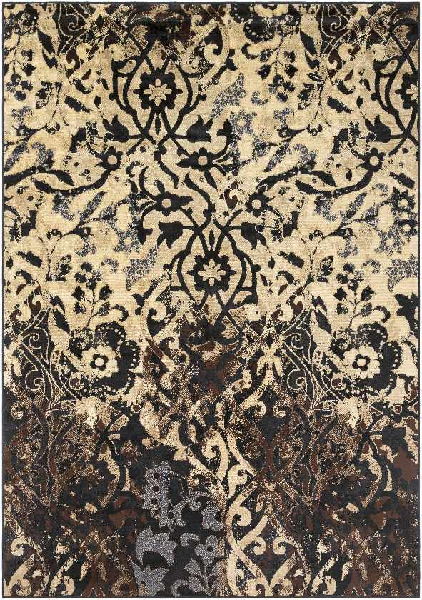 Harvey Transitional Charcoal Area Rug