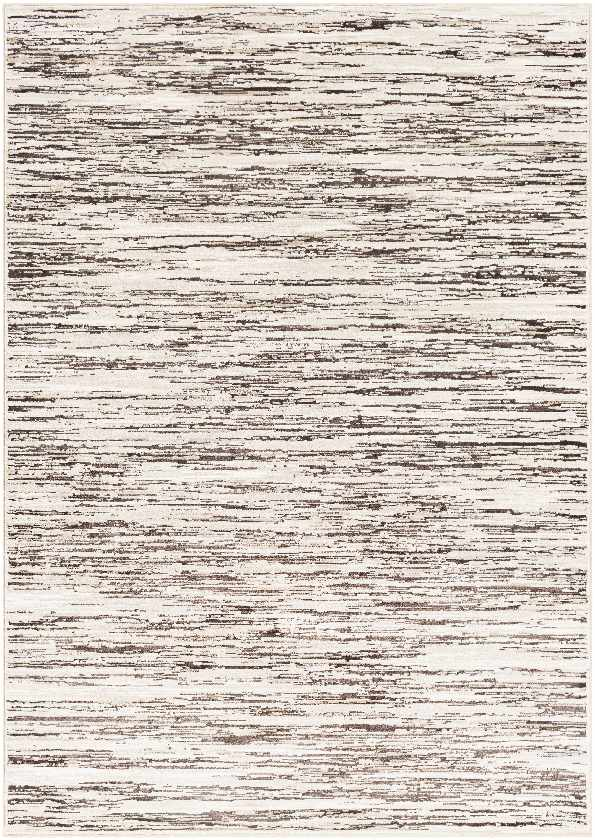 Tugdual Modern Dark Brown Area Rug