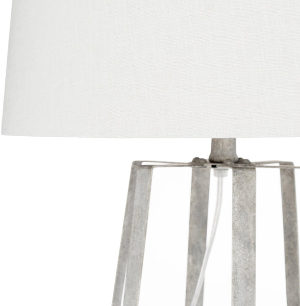 Hollabrunn Modern White Table Lamp