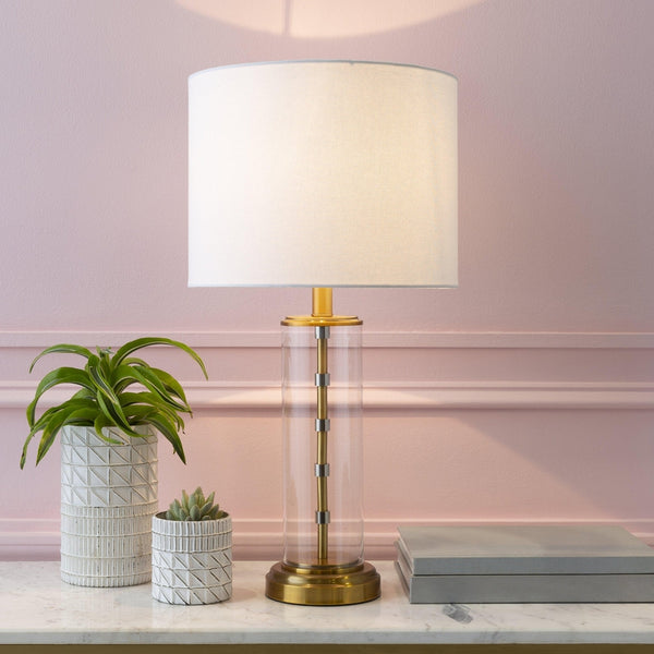 Inzenhof Modern White Table Lamp