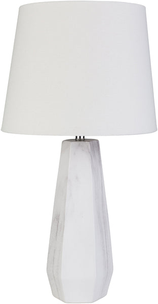 Memaliaj Modern White Table Lamp