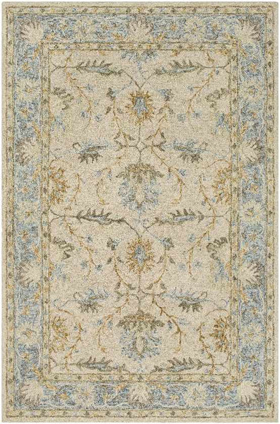 Odo Updated Traditional Light Gray Area Rug