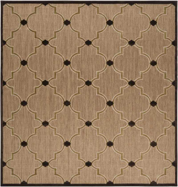 Emmanuel Cottage Dark Brown Area Rug