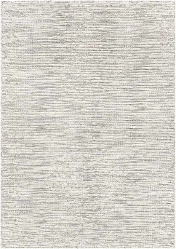 Craailo Modern Light Gray Area Rug