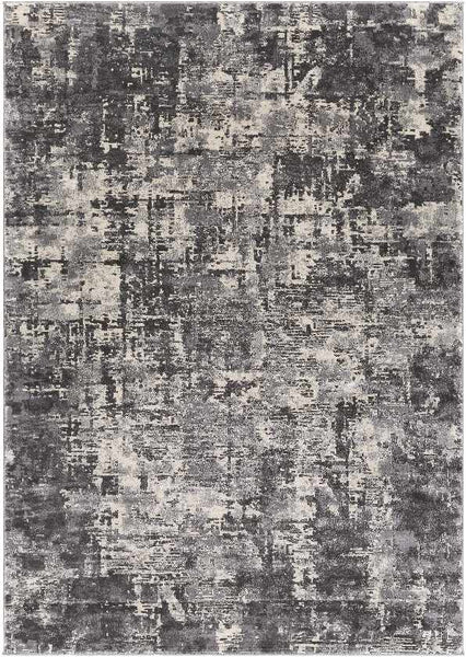 Rimpeld Modern Charcoal Area Rug