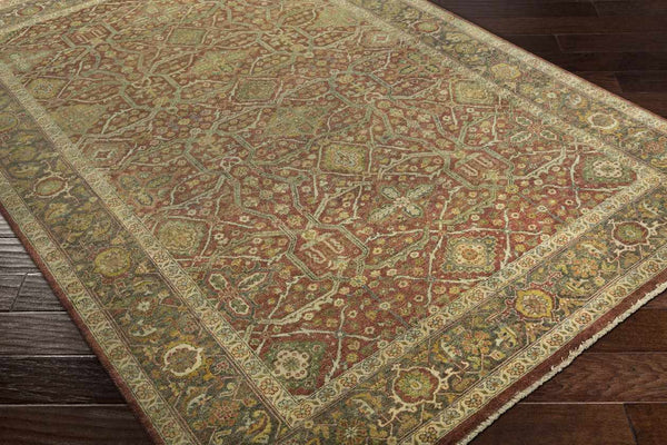 Reigate Traditional Clay Area Rug