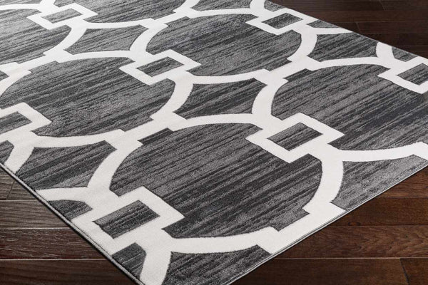 Tolena Modern Medium Gray Area Rug