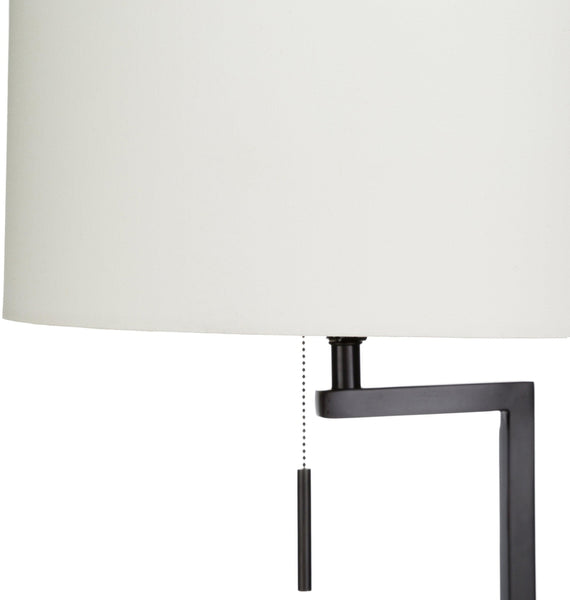Incles Modern White Floor Lamp