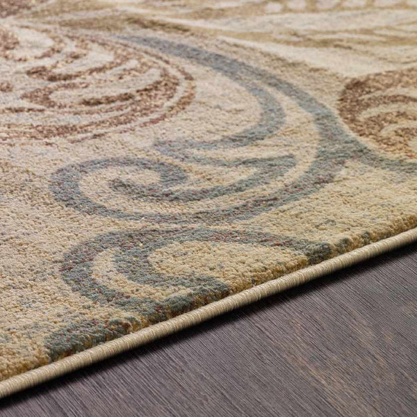 Stettler Transitional Pear Area Rug