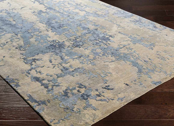 Monique Modern Navy Area Rug