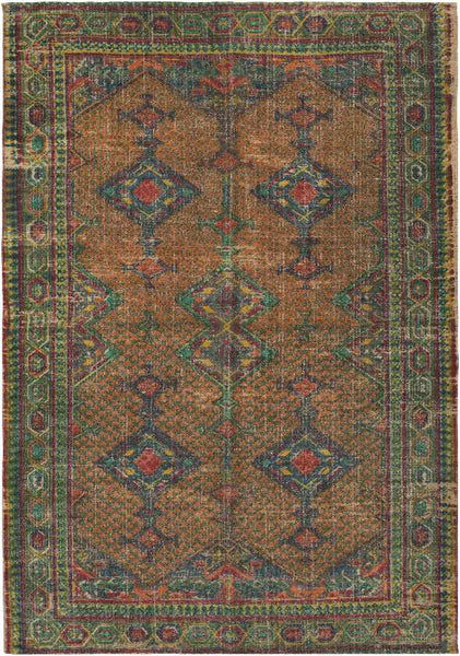 Leyland Traditional Khaki Area Rug