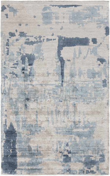 Prunella Modern Light Gray Area Rug