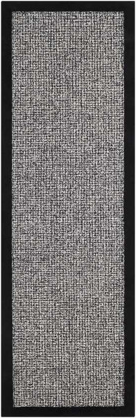 Earby Modern Black Area Rug