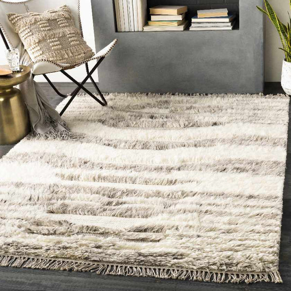 Guildford Cottage Light Gray Area Rug