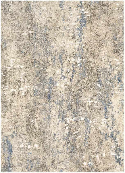 Foligno Modern Bright Blue Area Rug