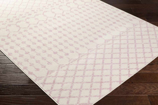 Knutsford Global Pale Pink Area Rug