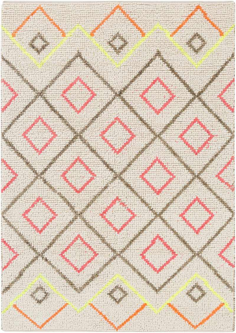 Addieville Bohemian/Global Cream Area Rug