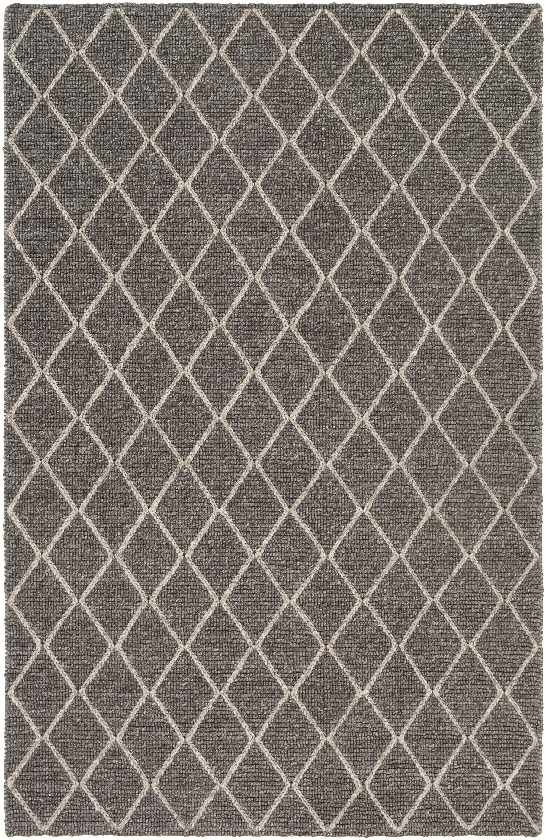 Severin Texture Charcoal Area Rug