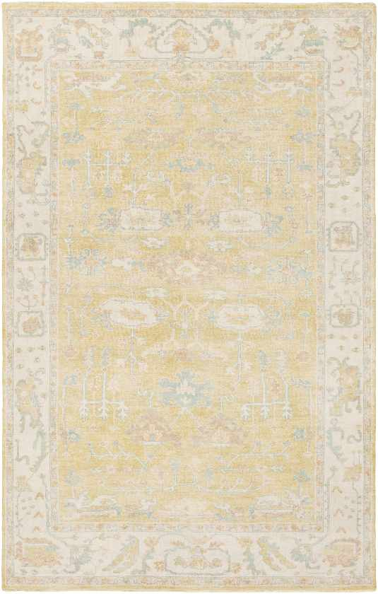 Laurent Traditional Wheat Area Rug