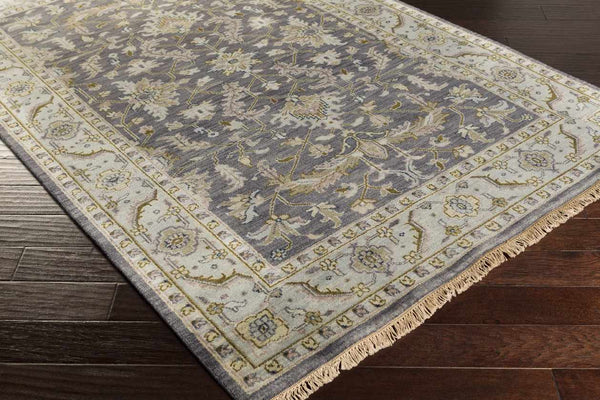 Grandview Traditional Charcoal Area Rug