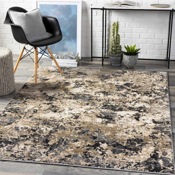 Armhoede Modern Brown Area Rug