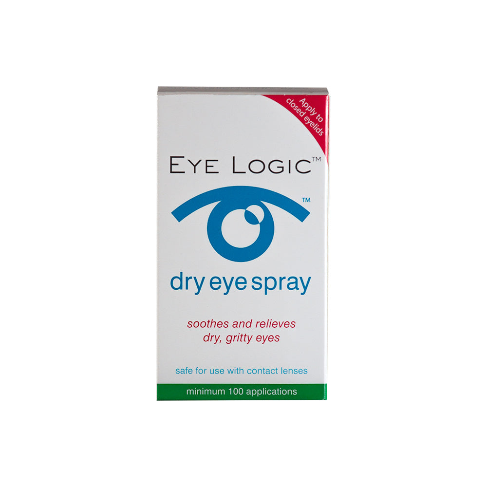 Eye Logic Dry Eye Spray for Dry Eye Syndrome and Rosacea with box