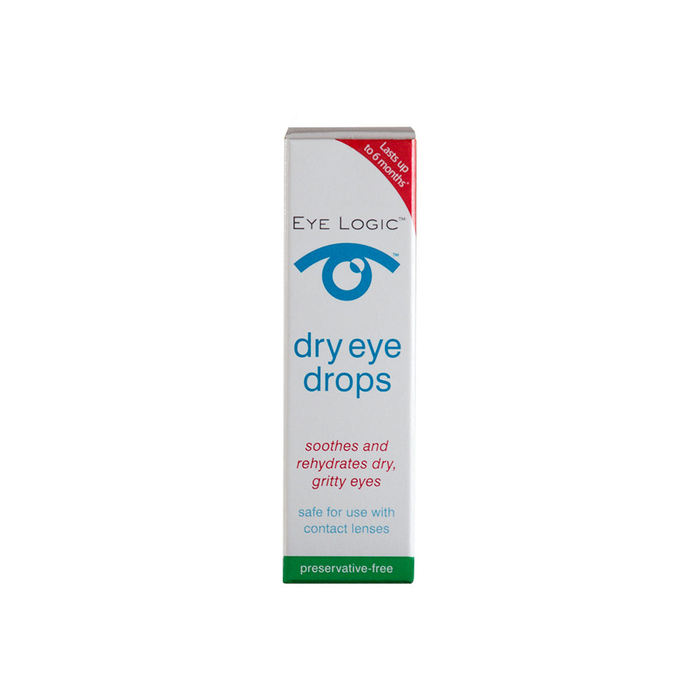 Eye Logic Dry Eye Drops for Dry Eye Syndrome and Rosacea