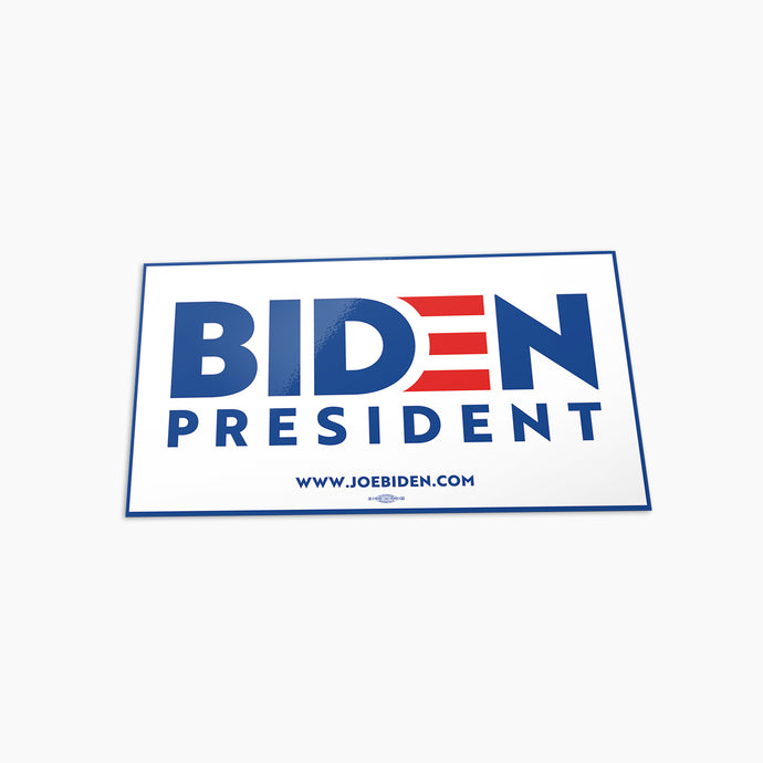 Biden for President Bumper Sticker