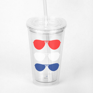 Aviators Iced-Coffee Tumbler