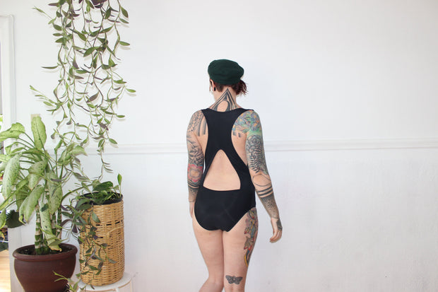 Deep Arm Hole  Swimsuit - Origami Customs
