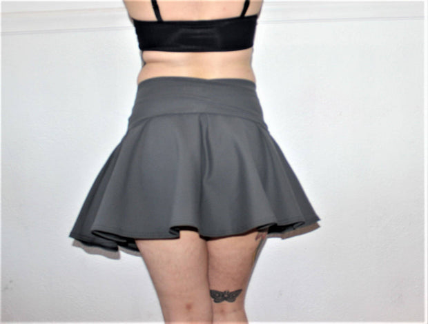 Roll Down Swim Skirt - Origami Customs