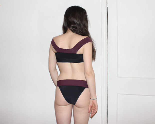 Minimal Tanga Cheeky  Swim Bottoms - Origami Customs