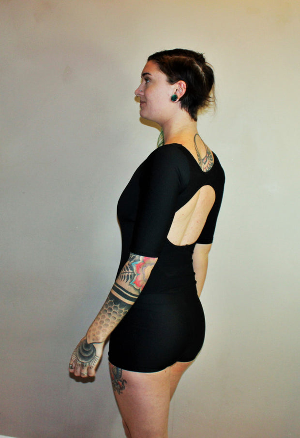 Backless Bodysuit /Swimsuit - Origami Customs