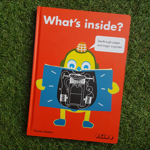 WHAT'S INSIDE: SEE THROUGH PAGES AND MAGICAL SURPRISES
