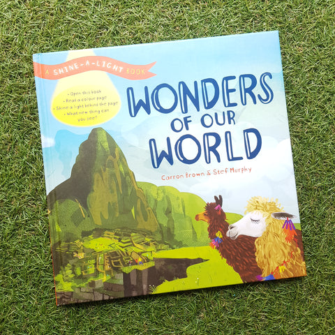 SHINE-A-LIGHT: WONDERS OF THE WORLD ( Hardback)