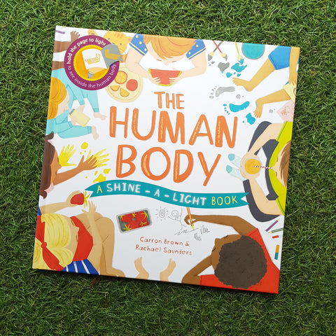 SHINE-A-LIGHT: THE HUMAN BODY (Hardback)