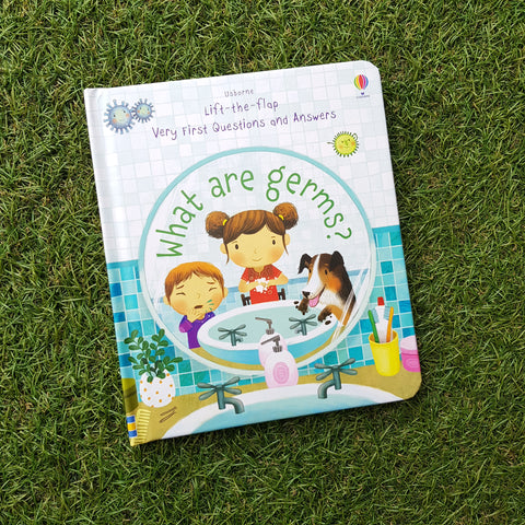 WHAT ARE GERMS? (USBORNE VERY FIRST LIFT THE FLAP QUESTIONS & ANSWER)