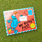 MR. MEN: MR BUSY'S POST A LETTER BOOK