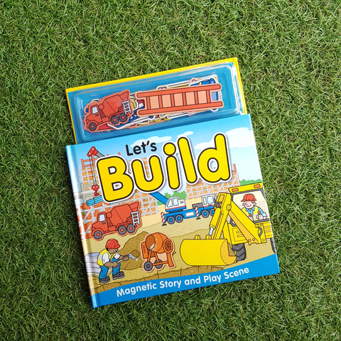 LET'S BUILD (MAGNETIC STORY AND PLAY SCENE)