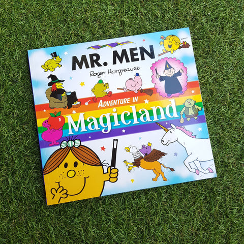 MR. MEN: ADVENTURE IN MAGICLAND (paperback)