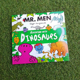 MR. MEN: ADVENTURE WITH DINOSAURS (paperback)