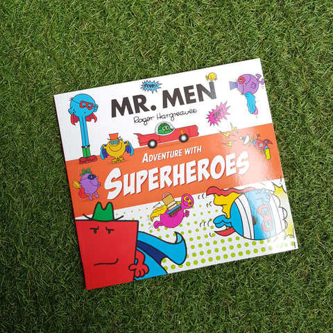 MR. MEN: ADVENTURE WITH SUPERHEROES (paperback)